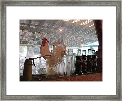 Cococola Framed Print