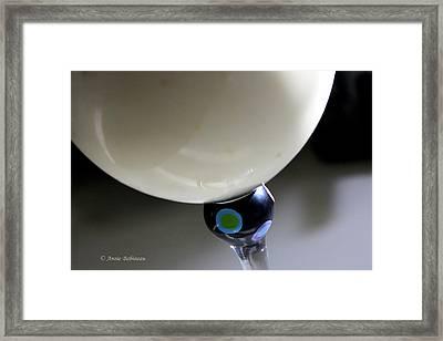 Coconut Mango Smoothie Framed Print by Annie Babineau