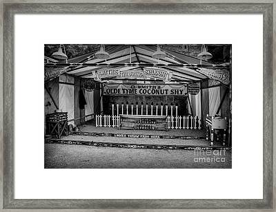 Coconut Shy 2 Framed Print by Adrian Evans