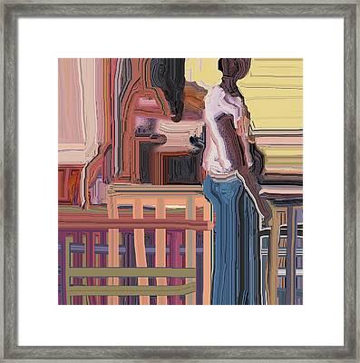 Coconutman Framed Print by Ian  MacDonald