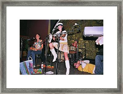 Cocorosie With Dave Sitek Framed Print
