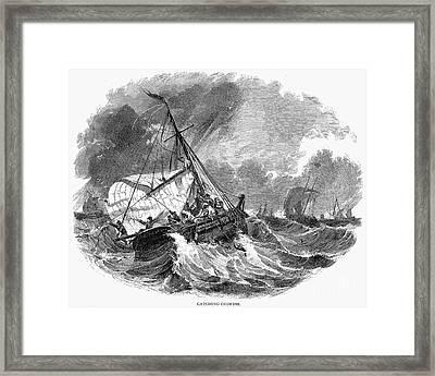 Cod Fishing, 1876 Framed Print by Granger