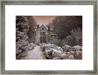 Coe Hall In Winter Framed Print