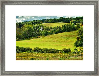 Coe's Hill Road Framed Print by HD Connelly