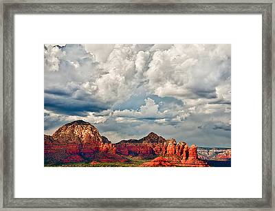 Framed Print featuring the photograph Coffee Pot Rock by James Bethanis