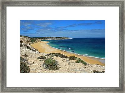 Coffin Bay Np 03 Framed Print by David Barringhaus