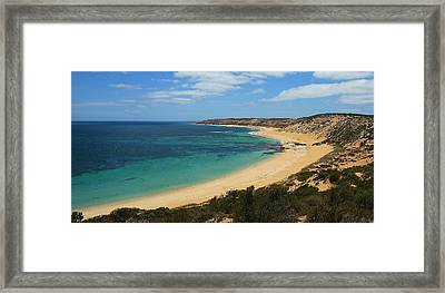 Coffin Bay Np 04 Framed Print by David Barringhaus