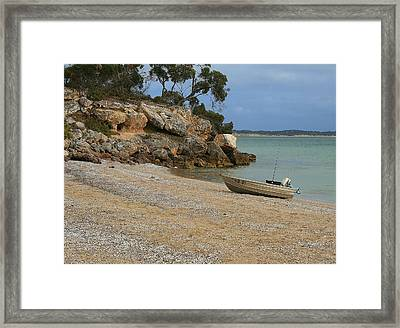 Coffin Bay Np Framed Print by David Barringhaus