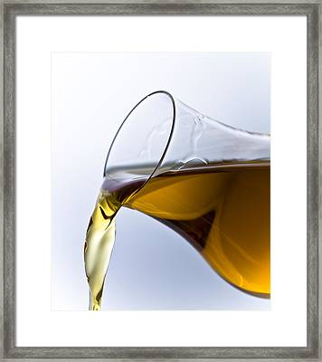 Cognac Framed Print