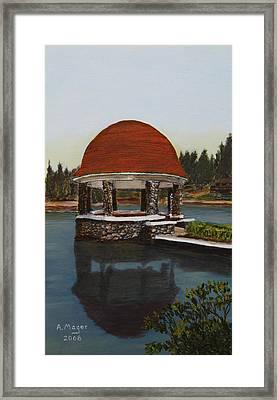 Cogshall Bandstand Framed Print
