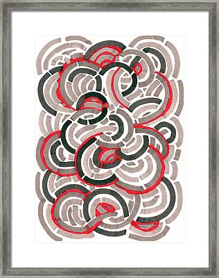 Coils Framed Print by Jason Messinger