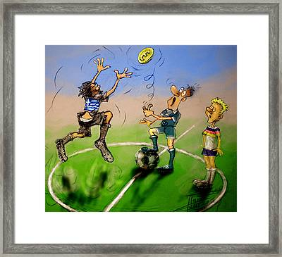 Coin Toss  Framed Print by Ylli Haruni