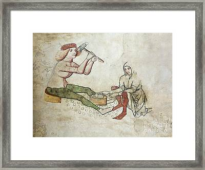 coinage - Gothic mural Framed Print