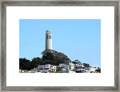 Coit Tower Framed Print