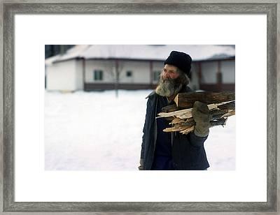 Cold Days Framed Print