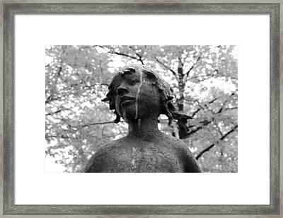 Cold Girl Framed Print