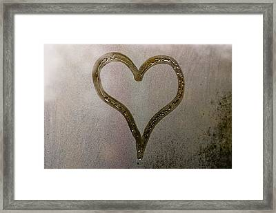 Cold Heart Framed Print by Stelios Kleanthous