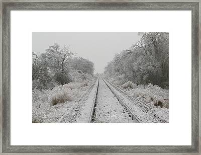 Cold Iron Framed Print by Jessica Jandayan