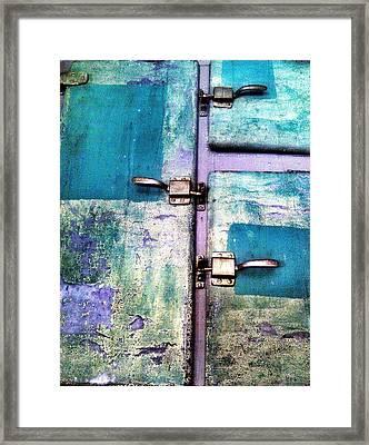 Cold Locker Framed Print by Olivier Calas
