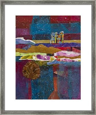 Cold Planet Framed Print