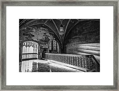 Cold Rock Warm Light Framed Print
