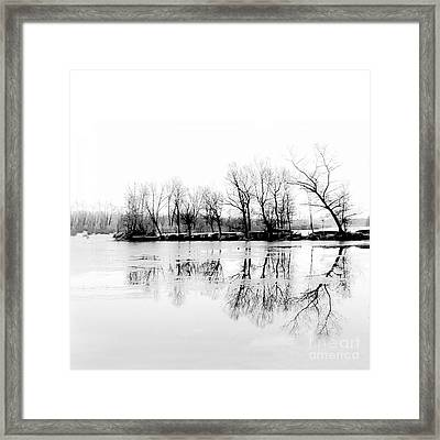 Cold Silence Framed Print by Hannes Cmarits