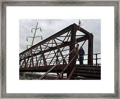 Cold Steel Framed Print by Jose Lopez