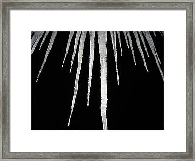 Cold Winter Night Framed Print by Devon Stewart