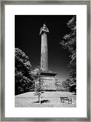 Cole Memorial Monument Enniskillen Framed Print by Joe Fox