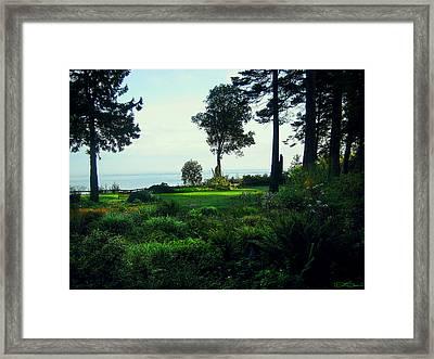 Colette's Garden Framed Print by Ric Soulen