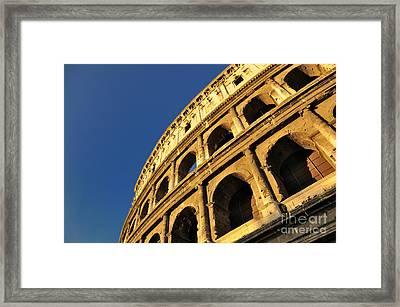 Coliseum. Rome Framed Print by Bernard Jaubert