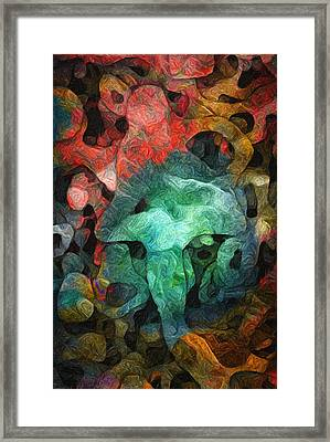 Collecting Framed Print by Jack Zulli