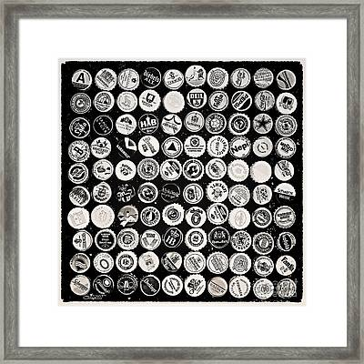 Collection Framed Print by Jutta Maria Pusl