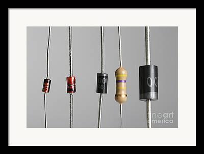 Electronic Resistance Framed Prints