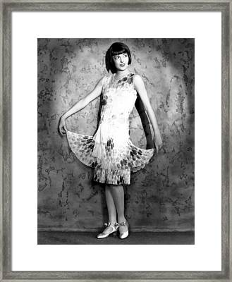 Colleen Moore, Circa Mid To Late 1920s Framed Print