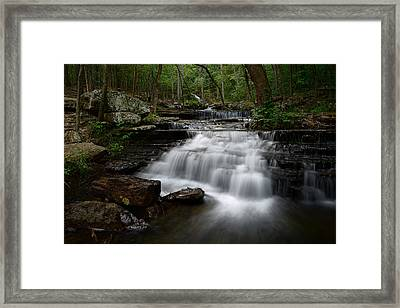 Collins Creek Falls Framed Print