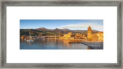 Collioure At Dawn Framed Print