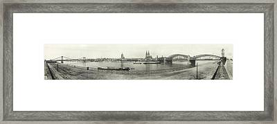 Cologne - Germany - C. 1921 Framed Print by International  Images
