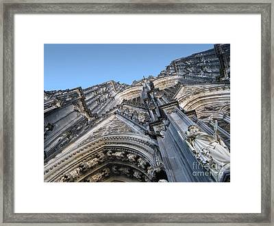 Cologne Cathedral Framed Print by Arlene Carmel
