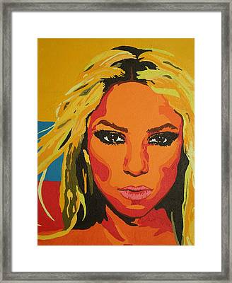 Colombiana Framed Print by Adrienne S