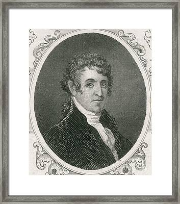 Colonel David Humphreys Framed Print by Photo Researchers