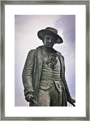 Colonel William Prescott Framed Print by Erica McLellan