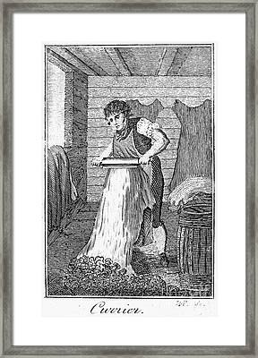 Colonial Currier Framed Print by Granger