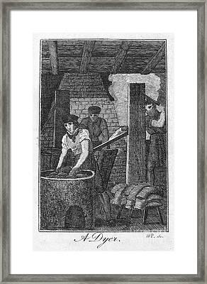 Colonial Dyer Framed Print by Granger