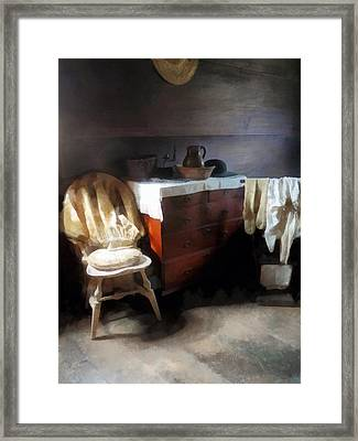 Colonial Nightclothes Framed Print