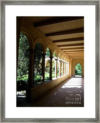 Colonnade  2 Framed Print by Tanya  Searcy