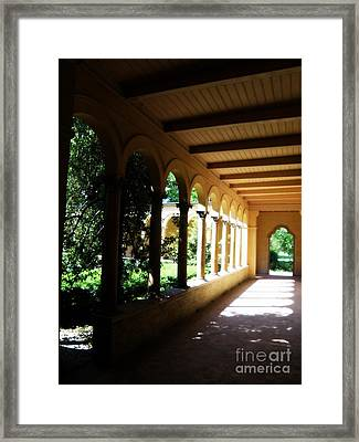 Colonnade  3 Framed Print by Tanya  Searcy