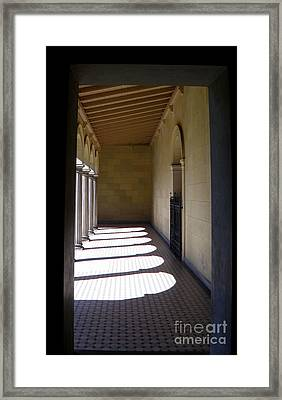 Colonnade  4 Framed Print by Tanya  Searcy