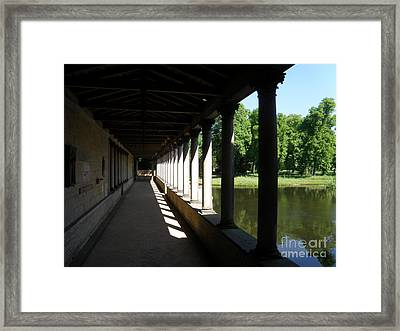 Colonnade  5 Framed Print by Tanya  Searcy