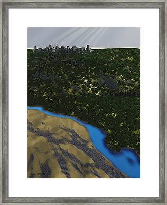 Colony Framed Print